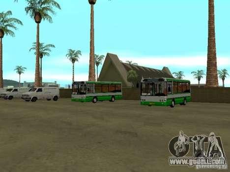 4-th bus v1.0 for GTA San Andreas second screenshot