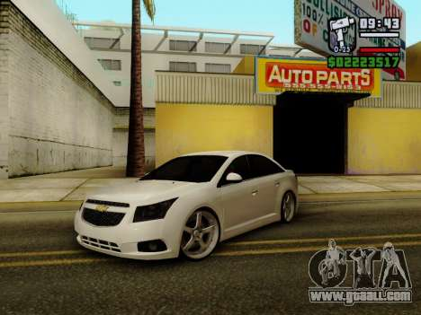 Chevrolet Cruze for GTA San Andreas