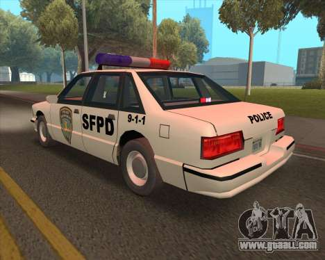 Updated SFPD for GTA San Andreas right view