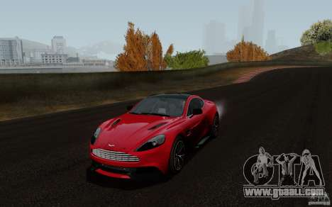 Aston Martin Vanquish 2012 for GTA San Andreas