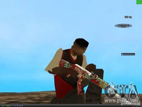 Graffiti Gun Pack for GTA San Andreas forth screenshot