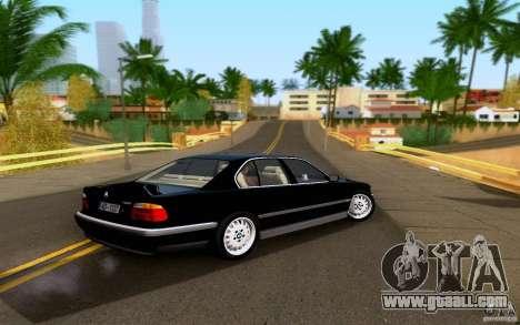 BMW 730i E38 FBI for GTA San Andreas left view