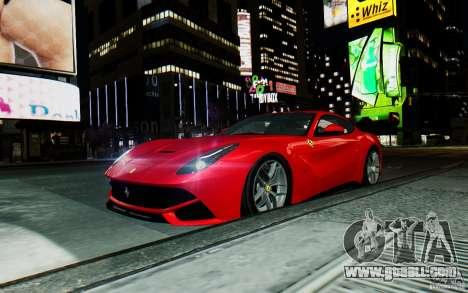 Ferrari F12 Berlinetta 2013 [EPM] for GTA 4 back view