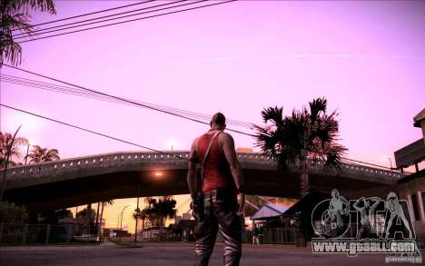 Vaas from Far Cry 3 for GTA San Andreas third screenshot
