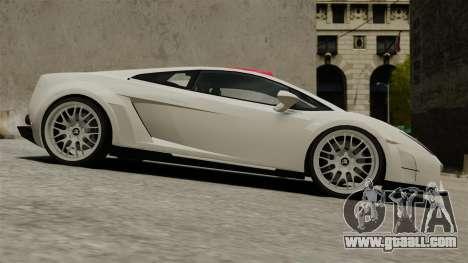 Lamborghini Gallardo Victory II 2010 HAMANN for GTA 4 left view