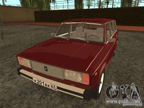 VAZ 2104 v. 2 for GTA San Andreas