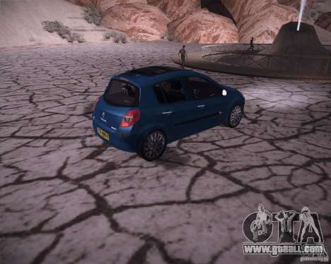 Renault Clio III for GTA San Andreas right view