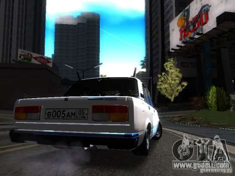 VAZ 2107 DAG for GTA San Andreas right view