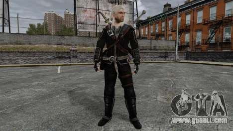 Geralt of Rivia v8 for GTA 4