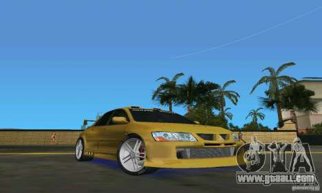 Mitsubishi Lancer Evo for GTA Vice City