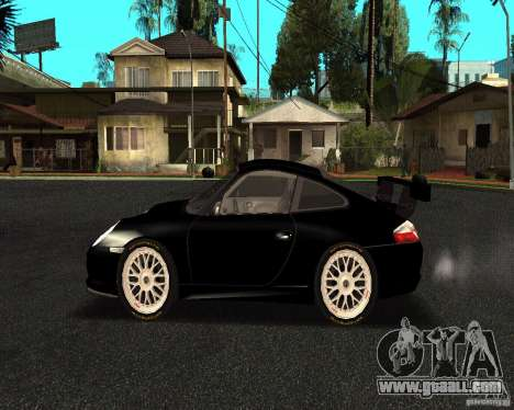 Porsche 911 GT3 RS for GTA San Andreas left view