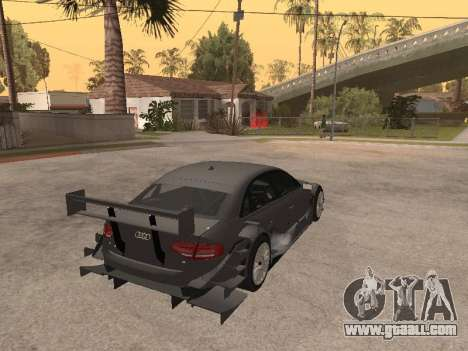 Audi A4 Touring for GTA San Andreas back view