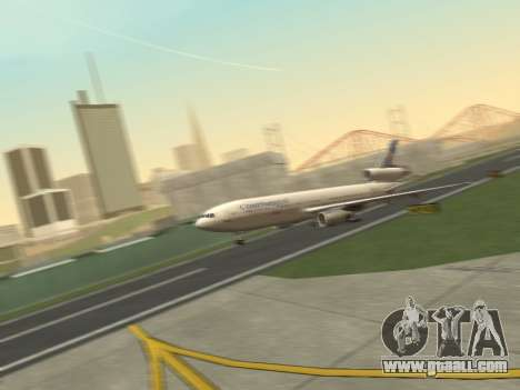 McDonell Douglas DC-10-30 Continental for GTA San Andreas left view