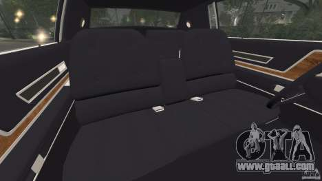 Cadillac Eldorado 1968 for GTA 4 inner view