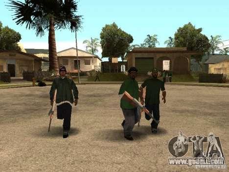 Grove Street Forever for GTA San Andreas