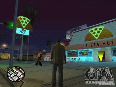 New textures eateries for GTA San Andreas seventh screenshot