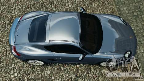 Porsche Cayman R 2012 for GTA 4 right view