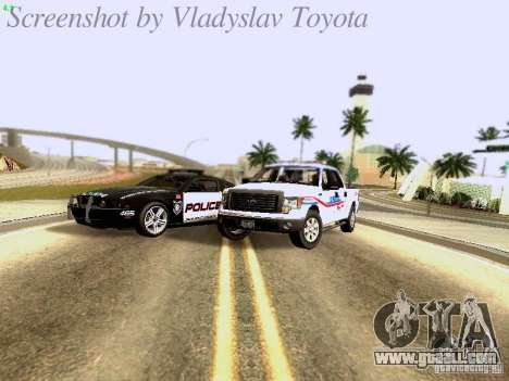 Ford F-150 Road Sheriff for GTA San Andreas inner view