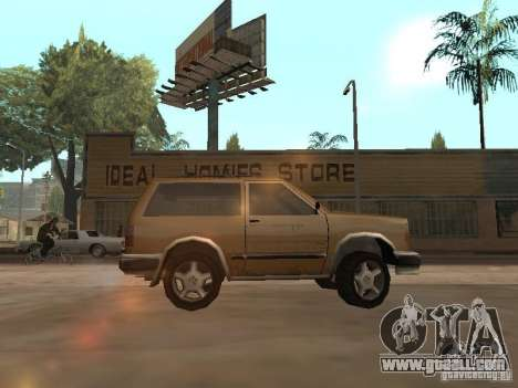 New Landstalker for GTA San Andreas left view