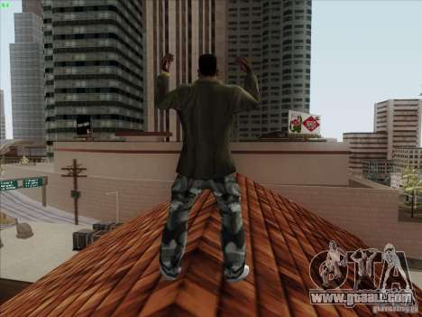 Gentleman Dance Animation for GTA San Andreas forth screenshot