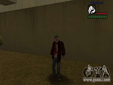 Skin the bum jacket for GTA San Andreas third screenshot