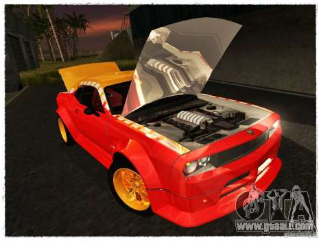 Dodge Challenger Calibri-Ace for GTA San Andreas right view