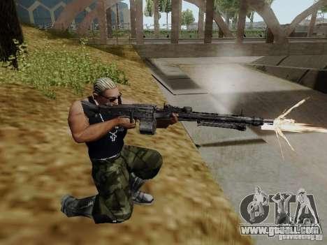The MG-42 machine gun for GTA San Andreas second screenshot