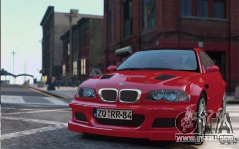 BMW M3 E46 Street Version for GTA 4
