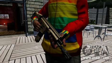 SCAR-L for GTA 4 forth screenshot