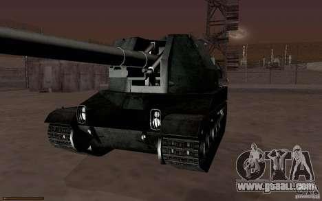 Bat. Chat. 155 SPG for GTA San Andreas