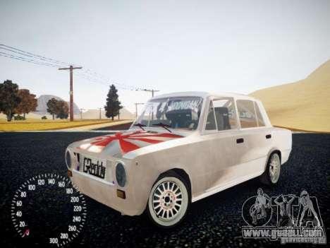 Vaz-2101 Drift Edition for GTA 4 back view