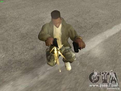 Gun G18 for GTA San Andreas second screenshot