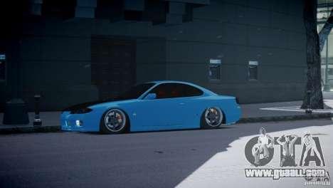 Nissan Silvia S15 JDM for GTA 4 left view