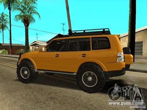 Mitsubishi Pajero OffRoad v2 for GTA San Andreas