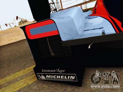 Aston Martin DBR1 Lola 007 for GTA San Andreas upper view