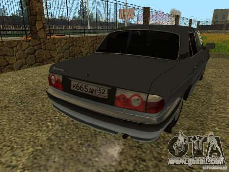 GAZ Volga 31105 restyling for GTA San Andreas right view