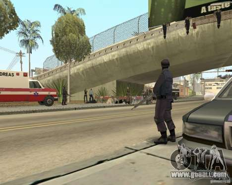 Scene of the crime (Crime scene) for GTA San Andreas third screenshot