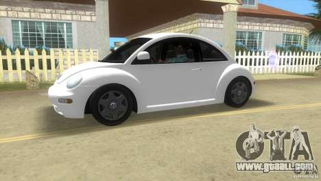 VW New Beetle for GTA Vice City left view