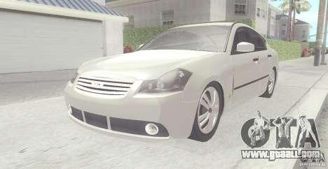 Infiniti M35 for GTA San Andreas