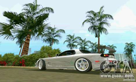 Mazda RX7 tuning for GTA Vice City left view