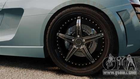 Audi R8 Spider Body Kit for GTA 4 back view