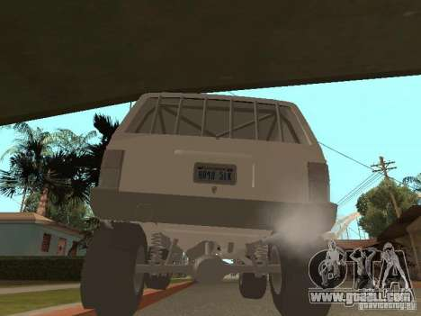 Jeep Cherokee 1984 v.2 for GTA San Andreas right view