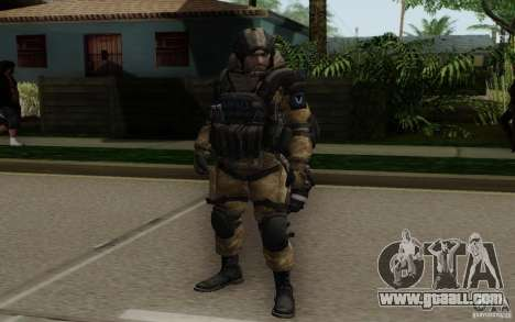 The Medic from Warface for GTA San Andreas