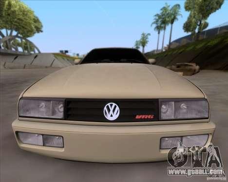 Volkswagen Corrado VR6 1995 for GTA San Andreas inner view
