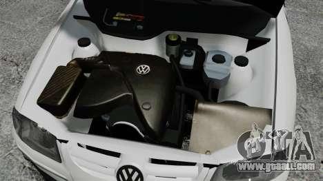 Volkswagen Parati G4 PMESP ELS for GTA 4 inner view