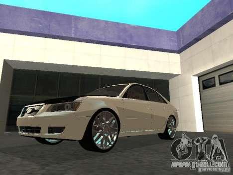 Hyundai Sonata 2008 for GTA San Andreas