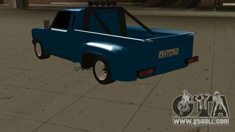 VAZ 2107 Ford for GTA San Andreas back left view