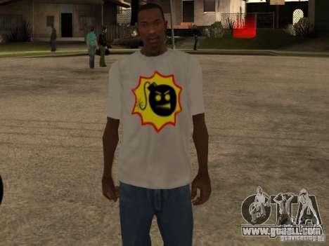 New t-shirt for GTA San Andreas third screenshot