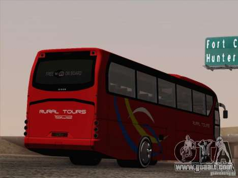 Neoplan Tourliner. Rural Tours 1502 for GTA San Andreas wheels