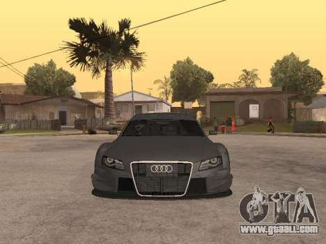 Audi A4 Touring for GTA San Andreas left view